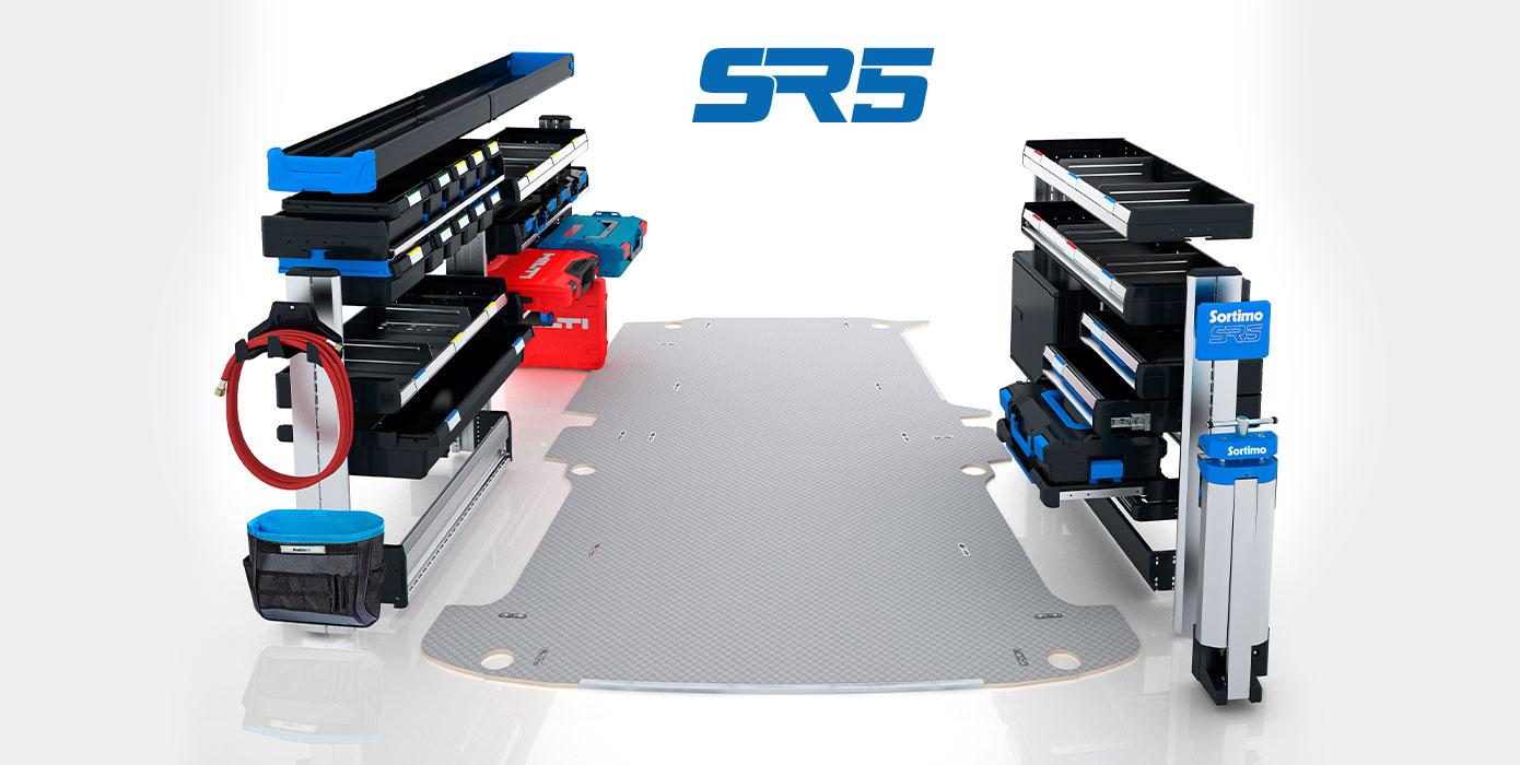 Sortimo SR5 Fahrzeugeinrichtung mit Komponenten