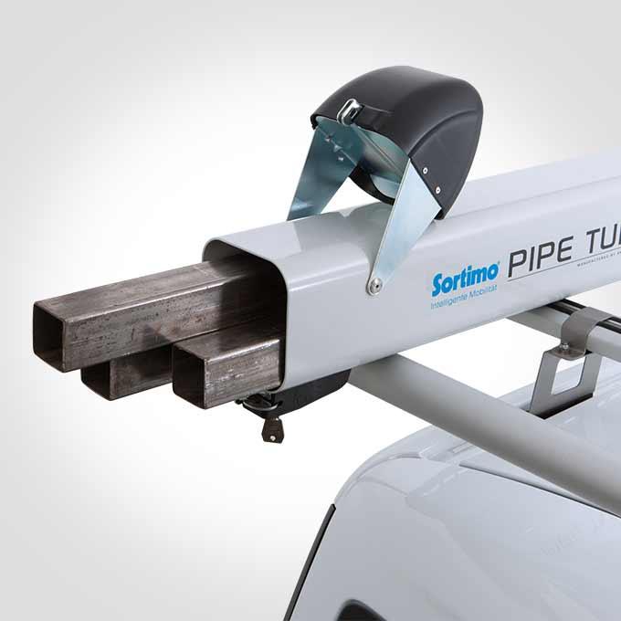 Dachträger TopSystem Aluminium Laderohr