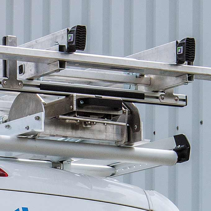 Dachträger TopSystem Leiterhecklift